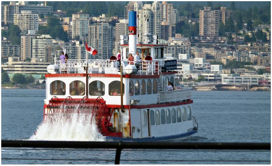 Boat trip Vancouver