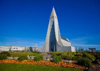 REYKJAVIK AND HALLGRIM'S CHURCH
