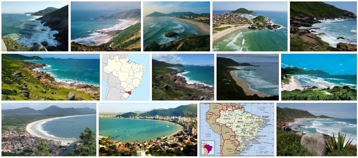 Santa Catarina Geography