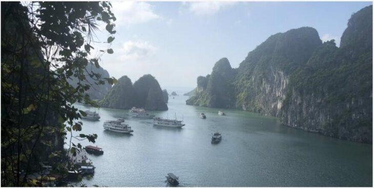The majestic Halong Bay