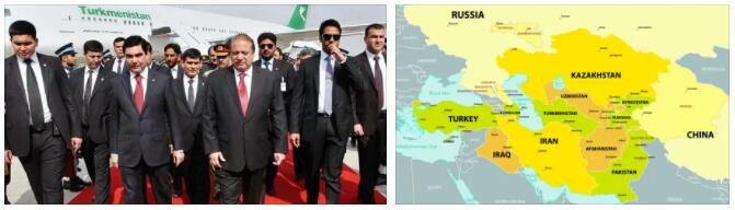 Turkmenistan Relationships with Bordering Countries